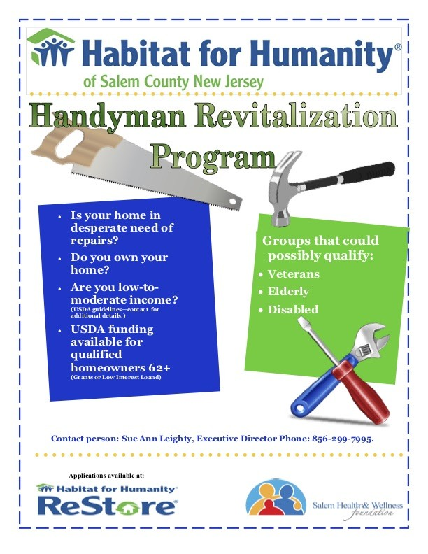 HandymanFlyer2017 - Handyman Revitalization Program