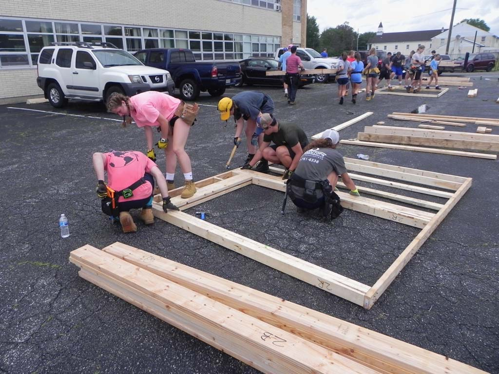 WWWorkDay1 58 X2 - Maryland Church Partners With Habitat to Build 3 Homes in 5 Days in Penns Grove