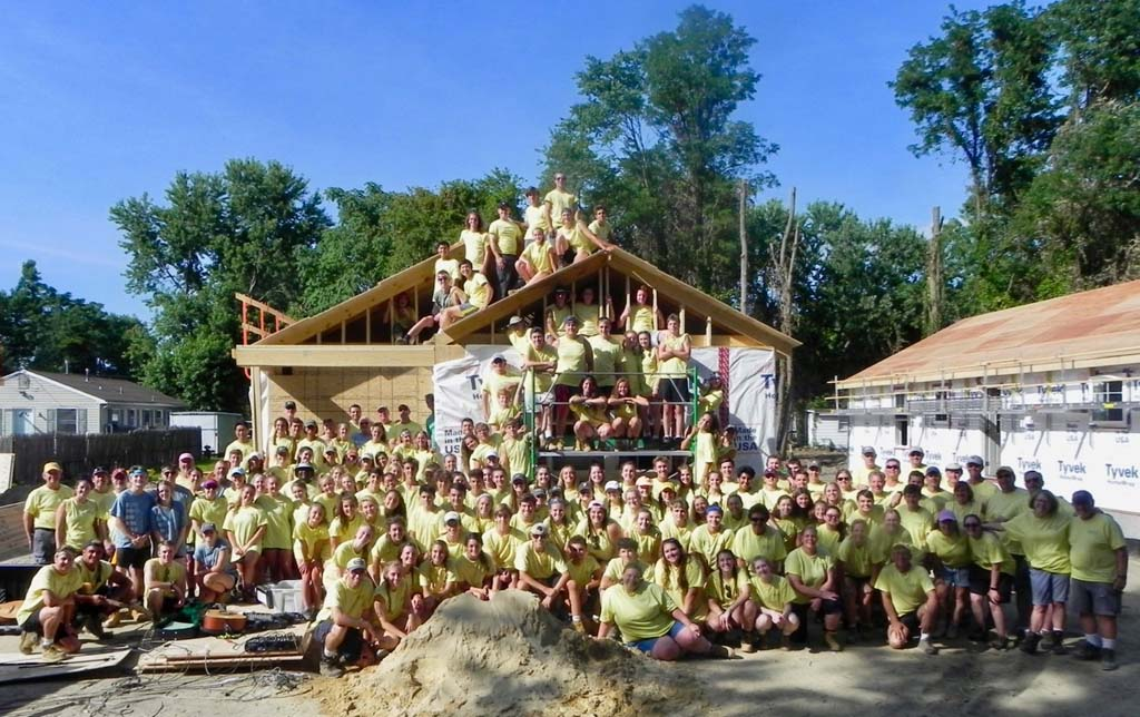 WWWorkDay5 923 X2 - Maryland Church Partners With Habitat to Build 3 Homes in 5 Days in Penns Grove