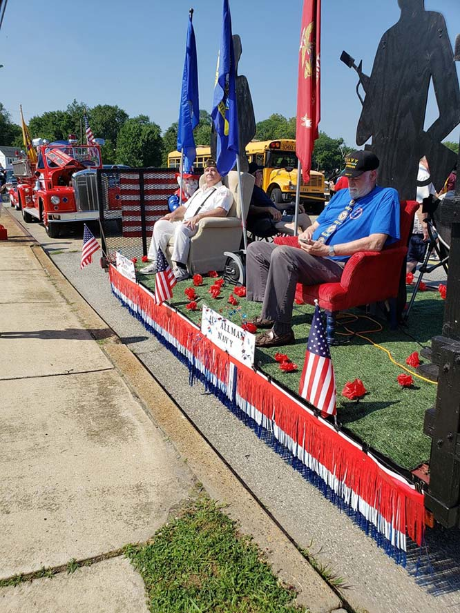 float3 - Another Fantastic Float Honoring Our Veterans and Military
