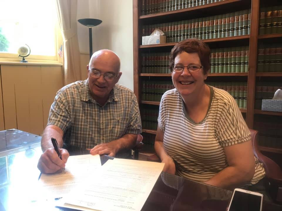 fred - Congratulations to New Homeowners Fred and Kellyann